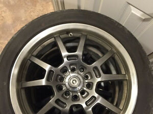 17 inch konig rims and tires