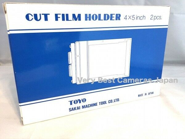New TOYO FIELD 4x5 Sheet Film Holder [Set of 2]No.10141 CH45IIA1 Cut Film Holder