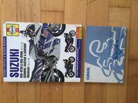 Notices Suzuki et Yamaha