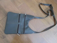 Brown Genuine Leather Cross Body Sholder Purse