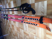 CROSS COUNTRY SKIS AND BOOTS- pay what you can - $1 (verdun)