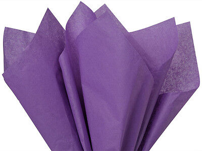 """DARK LAVENDER PURPLE Tissue Paper for Gift Wrapping 20""""x26"""""""