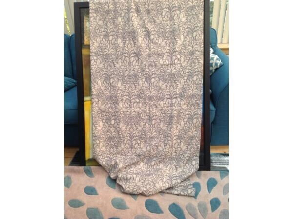 New Grey lined Eyelet Curtains from Dunelm 72