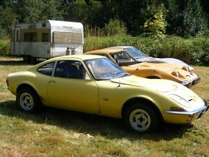 WANTED OPEL GT parts or cars