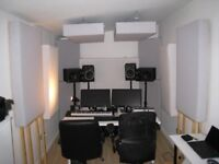 Music studio to rent (1 to 3 days available per week)
