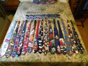 17 Novelty Ties-$40 for all, $5 each, $3 each for more than 1
