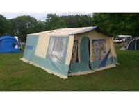 Jamet trailer 8 berth trailer tent