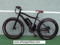 eRanger electric fat bike 500w 48v free suspension this month