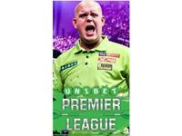 Premier League Darts Glasgow 22 March - Front Block
