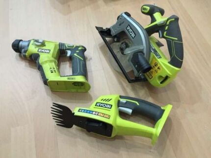 Ryobi One+ 18V Cordless Power Tools (Skins Only) Brunswick East Moreland Area Preview