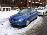 2003 Mazda Protege winter fit car from private owner