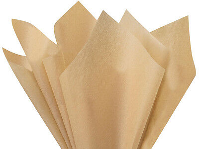 "DESERT TAN Tissue Paper for Gift Wrapping 15""x20"" Sheets Eco"