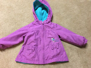 OshKosh Reversible fleece lined nylon coat Kitchener / Waterloo Kitchener Area image 1