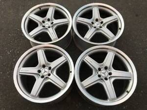 "Set Of Genuine 21"" AMG Mercedes GL63 rims in good used condition"
