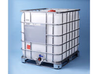 ibc 1000ltr container water butt , Hot tub , wood pellets , log bin , Hot tub , winter planters