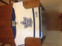 Official Maple leafs away jersey.