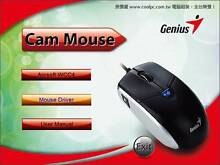 Brand New Genius All-in-One Cam Mouse 2MP HD Image Scroll Wheel Auburn Auburn Area Preview