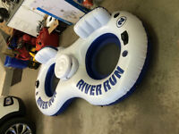 TUBE FOR FLOATING DOWN THE RIVER