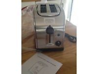 BRAND NEW STAINLESS STEEL TOASTER STILL IN BOX