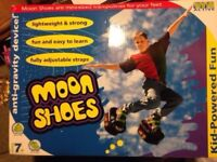 XMAS: DELUXE MOON SHOES - Fun Christmas Gift Ages 7 - 11