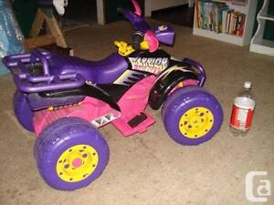 Peg Perego Warrior Princess ATV