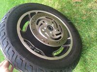 Front wheel for Street Glide FLHX