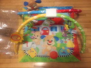 Fisher-Price Puppy 'n Pals Play Mat