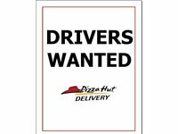 Pizza Hut Delivery Moped Drivers (North & Central London) - Earn up to £8.00 per hour (inc tips)
