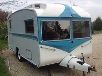 vintage royal 1969 caravan 2/3 berth classic in mint condition