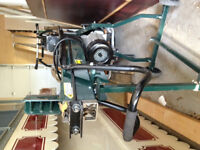 Log splitter with mobile stand for sale!