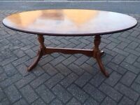 Lovely solid wood coffee table for sale