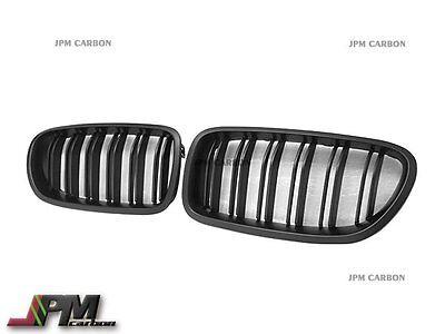Matte Black M5 Look Front Kidney Grille 11-16 BMW F10 528i 535i 550i Sedan Wagon