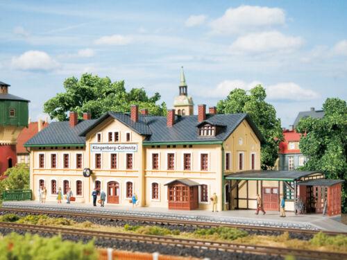 Auhagen 13220 Tt Gauge, Railway Station Klingenberg-Colmnitz # New IN Boxed#
