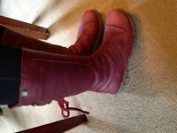 El Naturalista Leather boots-SIZE 7 Ladies -$65.00