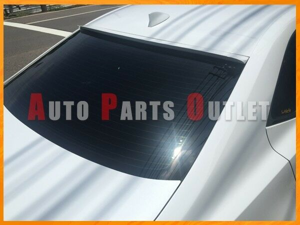 14-17 LEXUS IS250 IS300h IS350 Sedan #083 White Nova Roof Spoiler - PUF Material