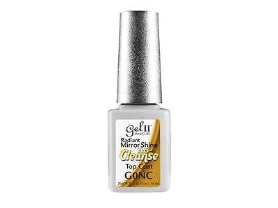 GEL II Manicure Radiant Mirror Shine No Cleanse Wipe Top Coat - G0NC