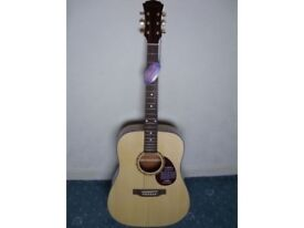 Freshman FA1DLX limited edition 6-string acoustic guitar BRAND NEW & MINT