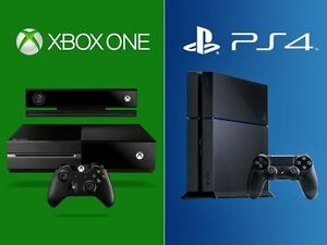 WE BUY NEW & USED XBOX ONE AND PS4