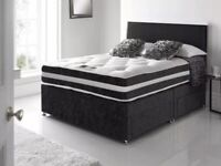 🎆💖🎆BRAND NEW CLASSIC SALE🎆💖🎆 SINGLE / DOUBLE / KING SIZE DIVAN BED WITH + MATTRESS & SAME DAY