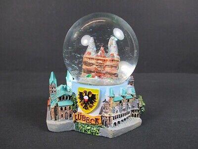 Schneekugel Lübeck Holstentor Snowglobe Germany Souvenir,NEU