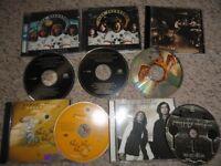 led zeppelin x 5 cd's