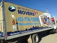 10 free packing boxes. Call 403-774-1309 Metropolitan Movers