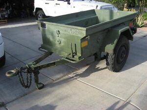 Military Dew trailer M101 or M416