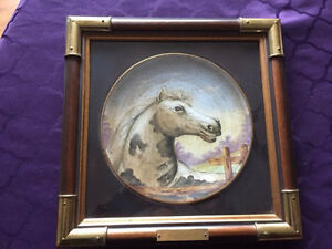 Hand Painted collectible decorative plate.