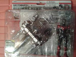 4 Very Rare Microman Biomachine Collectible 2004 series MIB/NEW