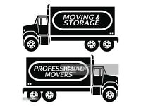 REMOVALS MAN&VAN SERVICES ( LAST MINUTE BOOKINGS AVAILABLE)