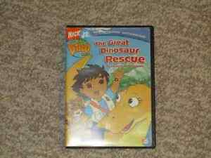 Go Diego Go.  The Great Dinosaur Rescue DVD