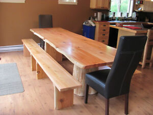 Quality hand made real wood tables lcoally crafted Comox / Courtenay / Cumberland Comox Valley Area image 9