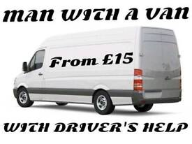 MAN WITH VAN / PICKUP / REMOVAL / CLEARANCE / STORAGE HIRE SERVICES