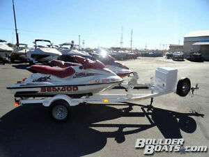 Sea doo and a Palaris like new on a trailer  Low Hours